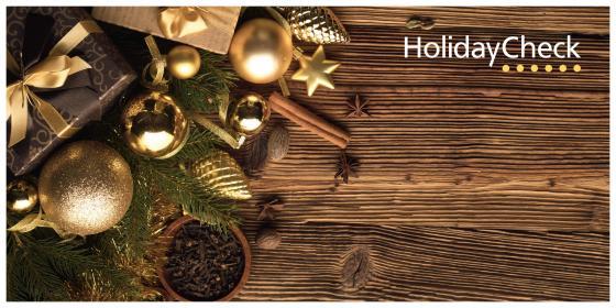 HolidayCheck Gutschein zum Drucken 200,00 € Dekor 14